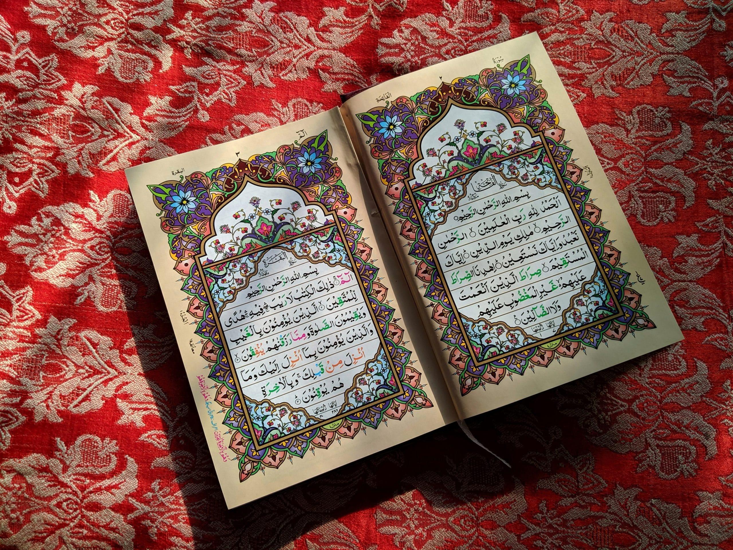 lecture coran mosquée